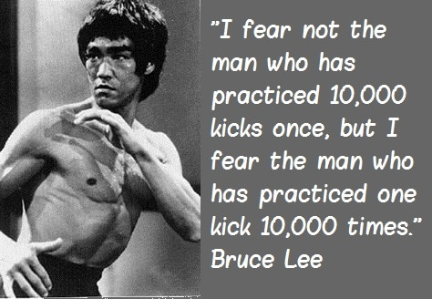 Psikologi Trading Cara Bruce Lee Quote