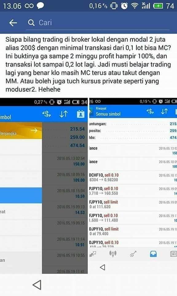Sekolah Trading Forex di Indonesia