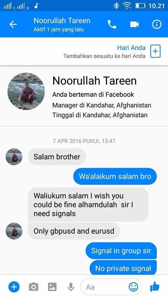 Trader Dari Afghanistan Minta Signal Trading 1